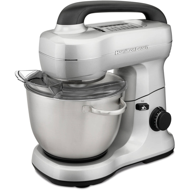 Hamilton Beach 7 Speed Silver Stand Mixer