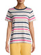 Women's Crewneck Striped T-Shirt
