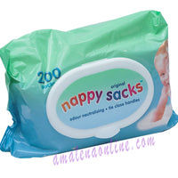 NAPPY SACKS 200PCS