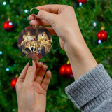 Christmas ornaments with your royal portrait