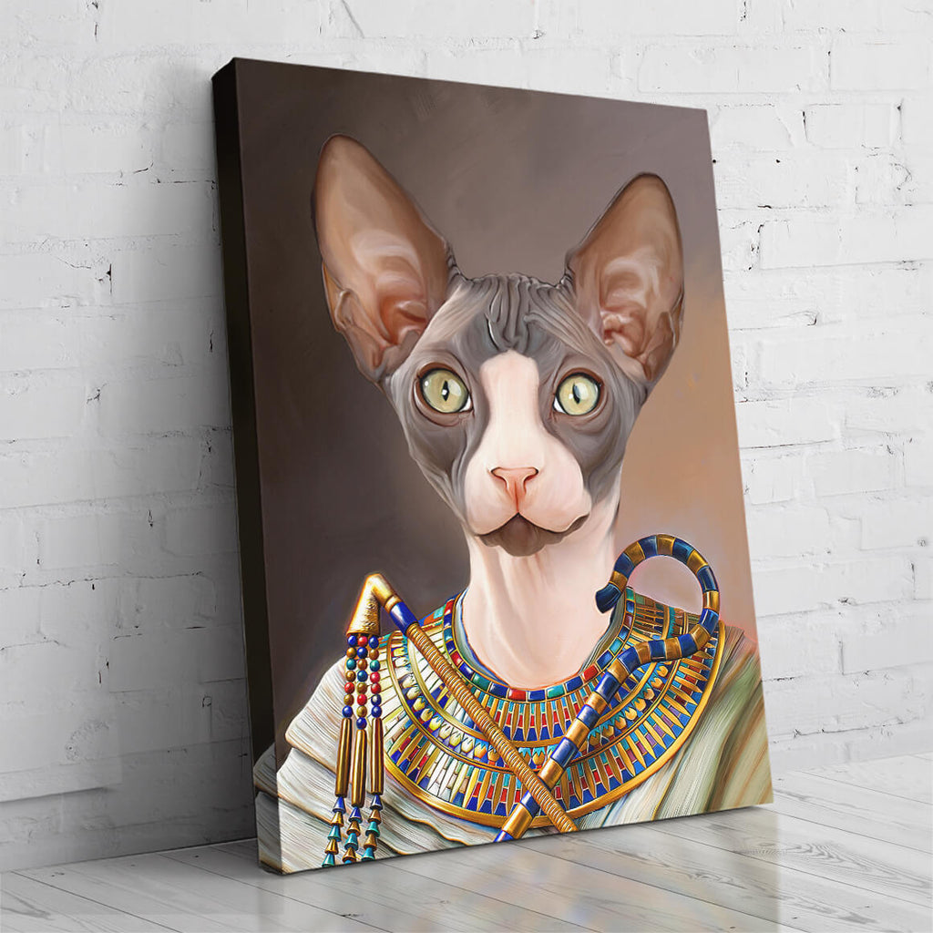 The Egyptian Queen - Pet Portrait