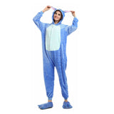 Unisex Birthday One-size Custume Cosplay Adult Kigurumi Pajamas Sleepwear(Stitch)