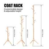 Bedroom Wooden Coat Rack