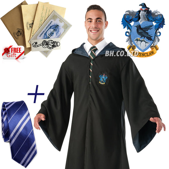 Harry Potter Ravenclaw  Cape+TIE (Adult)