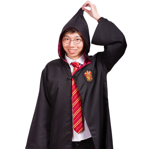 Harry Potter Gryffindor Robe Cape Cosplay School Party Costume(Kids)