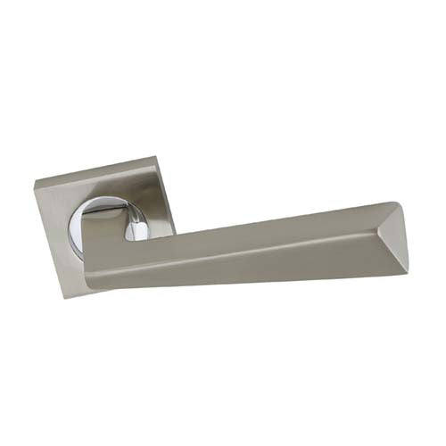 Door Handles On Square Rose