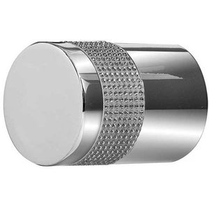 Swarovski Crystal Cylindrical Mortice Furniture - Polished Chrome - 2012PC-SILVER - Choice Handles