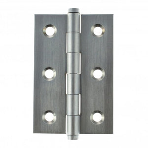 "Atlantic Washered Butt Hinges 3"" x 2"" x 2.2mm inc Screws - Satin Chrome - AWH3222SC - Pair - Choice Handles"