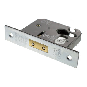 "Atlantic Euro Deadlock [CE] 3"" 76mm - Satin Chrome - ALKDEADE3SC - Choice Handles"