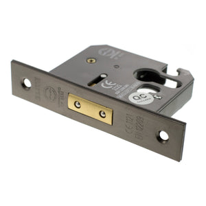 "Atlantic Euro Deadlock [CE] 2.5"" 63mm - Urban Bronze - ALKDEADE25UB - Choice Handles"