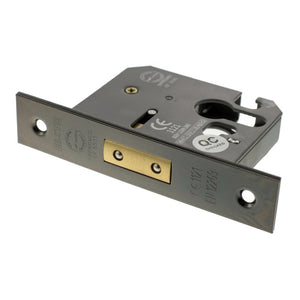 "Atlantic Euro Deadlock [CE] 3"" 76mm - Black Nickel - ALKDEADE3BN - Choice Handles"