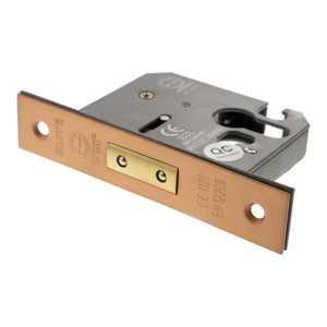 "Atlantic Euro Deadlock [CE] 2.5"" 63mm - Urban Satin Copper - ALKDEADE25USC - Choice Handles"