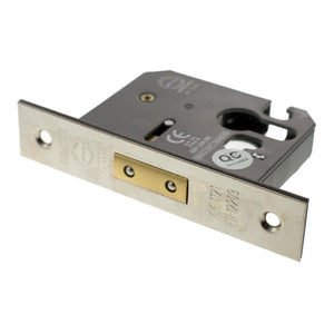 "Atlantic Euro Deadlock [CE] 3"" 76mm - Polished Nickel - ALKDEADE3PN - Choice Handles"
