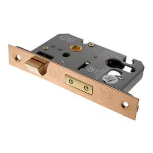 "Atlantic Euro Sashlock [CE] 3"" 76mm - Urban Satin Copper - ALKSASHE3USC - Choice Handles"