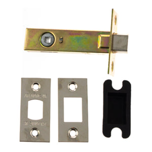 "Atlantic Tubular Deadbolt 4"" 102mm - Polished Nickel - ADB4PN - Choice Handles"