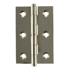 "Atlantic Butt Hinges 3"" x 2"" x 2.2mm inc Screws - Polished Nickel - ABH3222PN - Pair - Choice Handles"