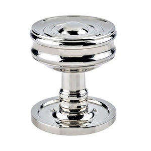 Burlington - Bloomsbury Mortice Door Knob Furniture - Polished Nickel - BUR101PN - Choice Handles