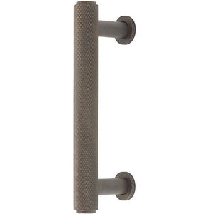 Burlington - Piccadilly 224mm Cabinet Handle - Dark Bronze - BUR412DB - Choice Handles