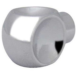 Cubo 12mm Cabinet Knob - Polished Chrome - GA501PC - Choice Handles