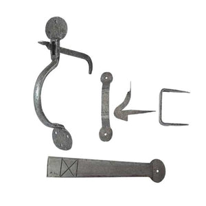Frelan Handforged Suffolk Thumb Door/Gate Latch - Pewter - HF47 - Choice Handles