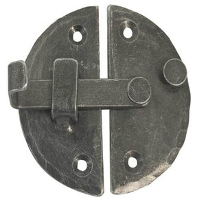 Frelan 72mm Handforged Cabinet Latch - Pewter - HF50 - Choice Handles