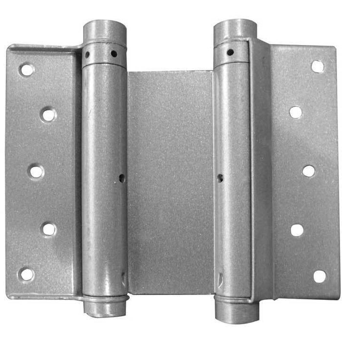 Frelan - 100mm Double Action Spring Hinge (Pair) - Silver - HG3005-4GY
