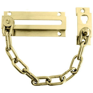 Frelan - Security Door Chain - Polished Brass - J3001PB - Choice Handles