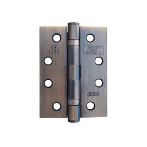Frelan -  Ball Bearing Hinges 102 X 76 X 3mm Grade 11 Fire Rated Stainless Steel  - Bronze - J8500BR (Pair) - Choice Handles