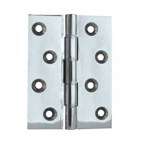 Frelan - Double Phosphor Bronze Washered Hinge, 102 x 67 x 2.5mm - Polished Chrome - J9120BPC - (Pair) - Choice Handles