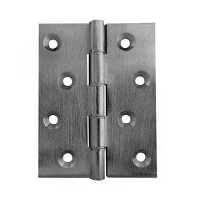 Frelan - Double Phosphor Bronze Washered Hinge, 102 x 67 x 2.5mm - Satin Chrome - J9120BSC - (Pair) - Choice Handles