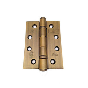 Frelan -  Ball Bearing Hinges 102 X 76 X 3mm Grade 13 Fire Rated Stainless Steel  - Bronze - J9500BR (Pair) - Choice Handles