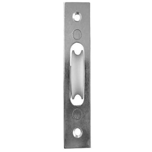 Frelan - Sash Window Axle Pulley - Zinc Plated Face With Nylon Roller - J992BZP - Choice Handles