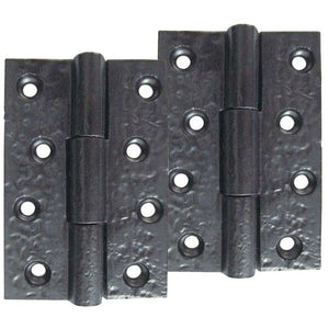Copy of Frelan - 4 Inch Butt Hinges - Black Antique - JAB104 - Pair - Choice Handles