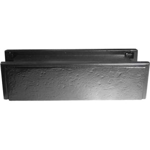 Frelan - Telescopic PVCu Sleeved Letterplate 274mm x 71mm - Black Antique - JAB113 - Choice Handles