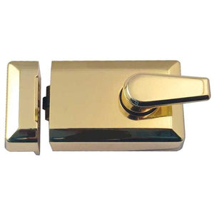 Frelan - Roller Bolt Nightlatch - Polished Brass - JL5011PB - Choice Handles