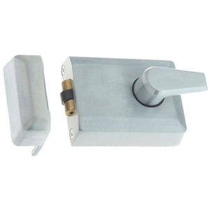 Frelan - Roller Bolt Nightlatch - Satin Chrome - JL5011SC - Choice Handles