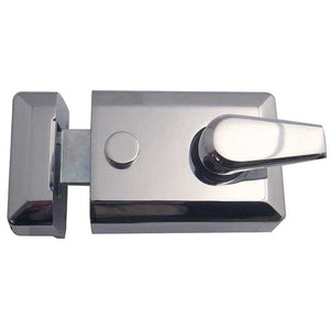 Frelan - Standard Stile Nightlatch - Polished Chrome - JL5021PC - Choice Handles