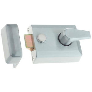 Frelan - Standard Stile Nightlatch - Satin Chrome - JL5021SC - Choice Handles
