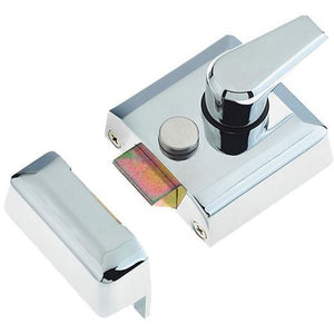 Frelan - Narrow Stile Nightlatch - Polished Chrome - JL5031PC - Choice Handles