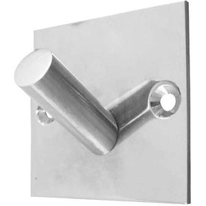 Frelan - Square Single Robe Hook - Polished Stainless Steel - JPS901A - Choice Handles