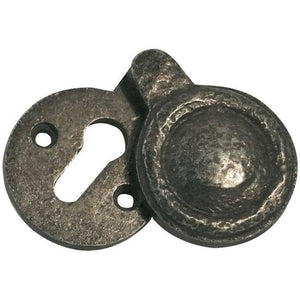 Frelan - Standard Profile Keyhole Escutcheon 40mm Diameter - Antique Brass - JV603AB - Choice Handles