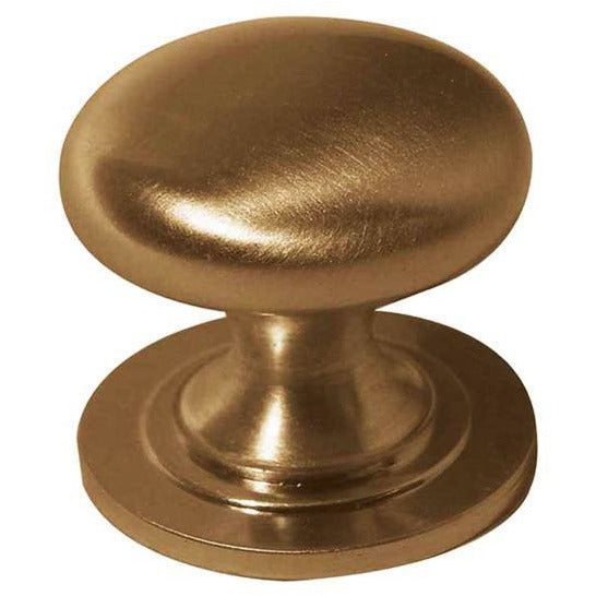 Frelan - Cupboard Knob 32mm  - Satin Brass - JV47BSB