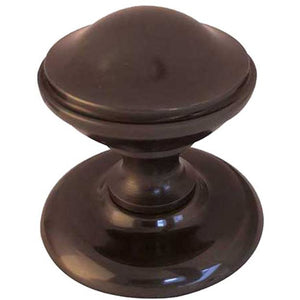 Frelan - Centre Door Knob (66mm Diameter) - Dark Bronze - JV59DB - Choice Handles