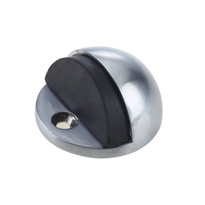 Frelan - Floor Mounted Door Stop - Satin Chrome - JV86SC - Choice Handles