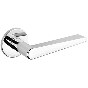 Tupai Rapido 5S Line Torrao Designer Lever on 5mm Slimline Round Rose - Bright Polished Chrome - T1967R5SPC - Choice Handles