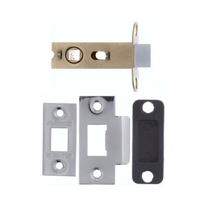 "Atlantic Bolt Through Tubular Latch 2.5"" 63mm - Polished Chrome - AL25PC - Choice Handles"