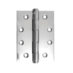 Frelan - Stainless Steel Grade 201 Washered Hinge, 102 x 76 x2mm - Polished Stainless Steel - J9505PSS - (Pair) - Choice Handles