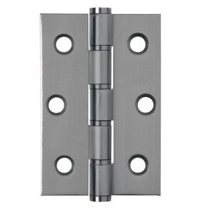 Frelan - Stainless Steel Grade 201 Washered Hinge, 76 x 50 x2mm - Stainless Stainless Steel - J9504SSS - (Pair) - Choice Handles