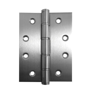 Frelan - Stainless Steel Grade 201 Washered Hinge, 102 x 76 x2mm - Stainless Stainless Steel - J9505SSS - (Pair) - Choice Handles