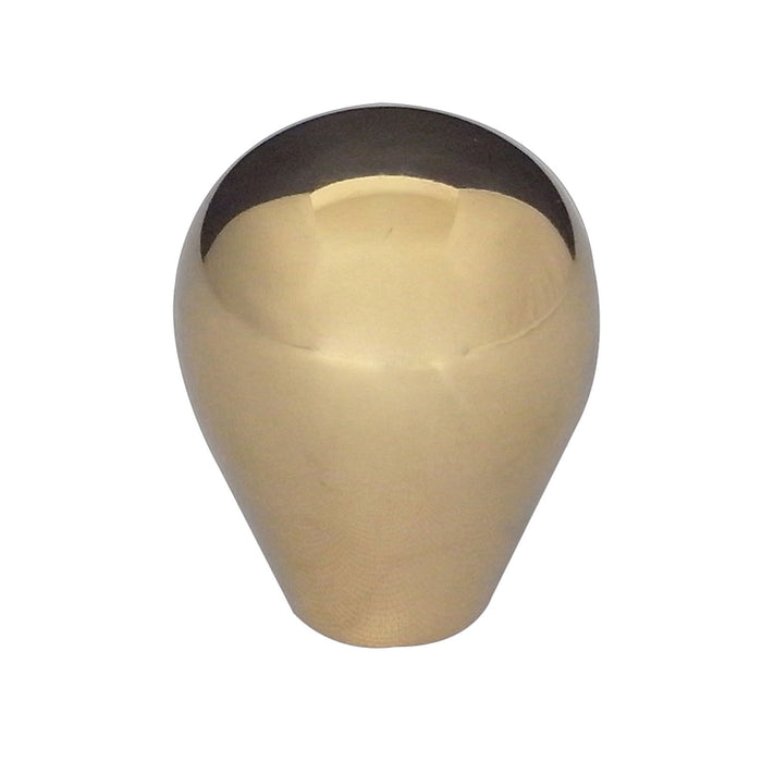 Jedo - Tear Drop Cabinet Knob 34 x 40mm - Polished Brass - JH8730PB